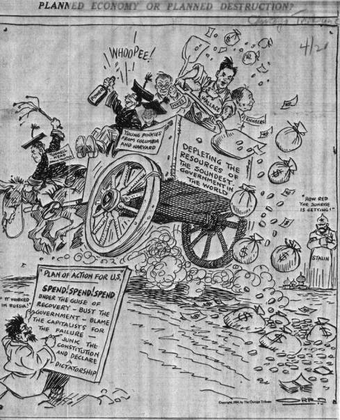 1934 Political Cartoon
