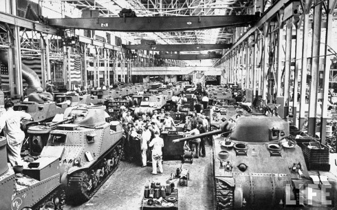 WWIITankManufacture